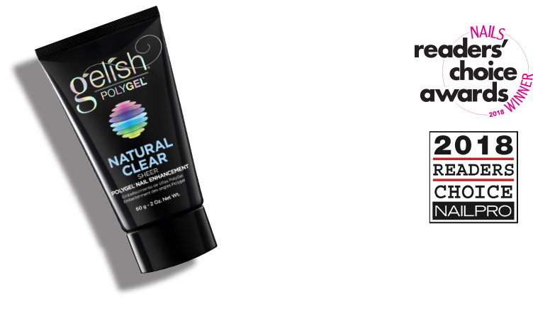Nails Magazine: Favorite Gel-Acrylic Hybrid Gelish® PolyGel® Nail Enhancement - Nail pro: Best New Product Gelish® PolyGel® Nail Enhancement