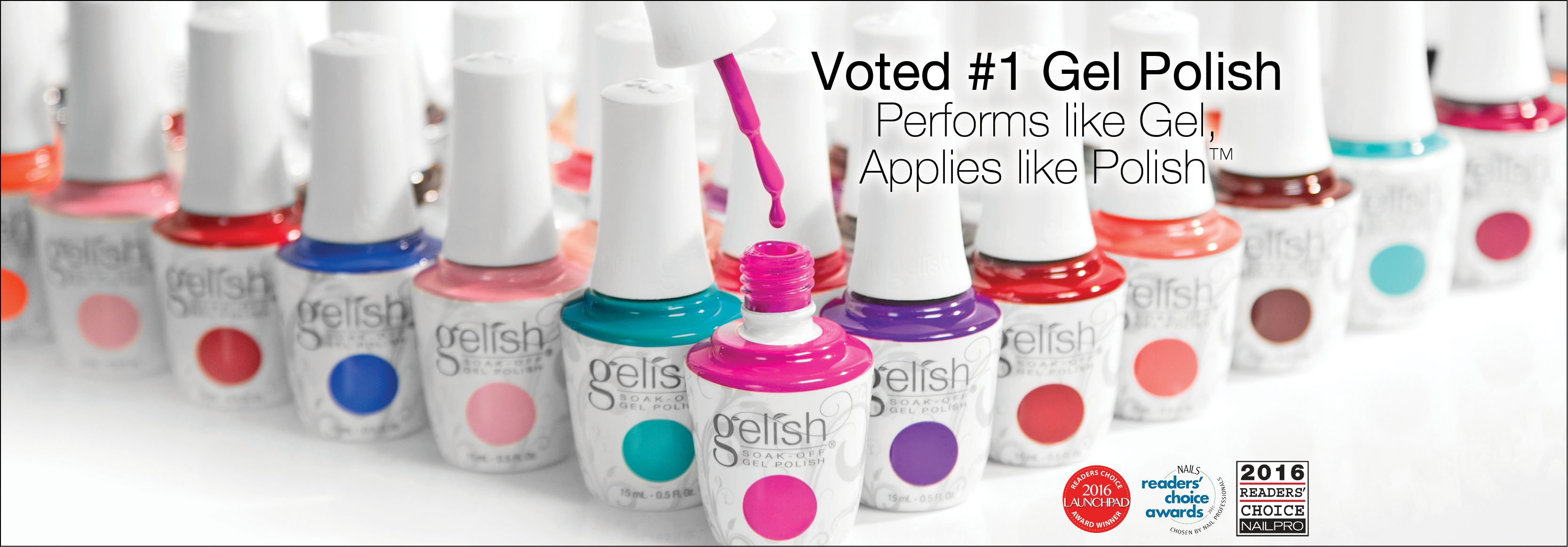 Gelish Relaunch
