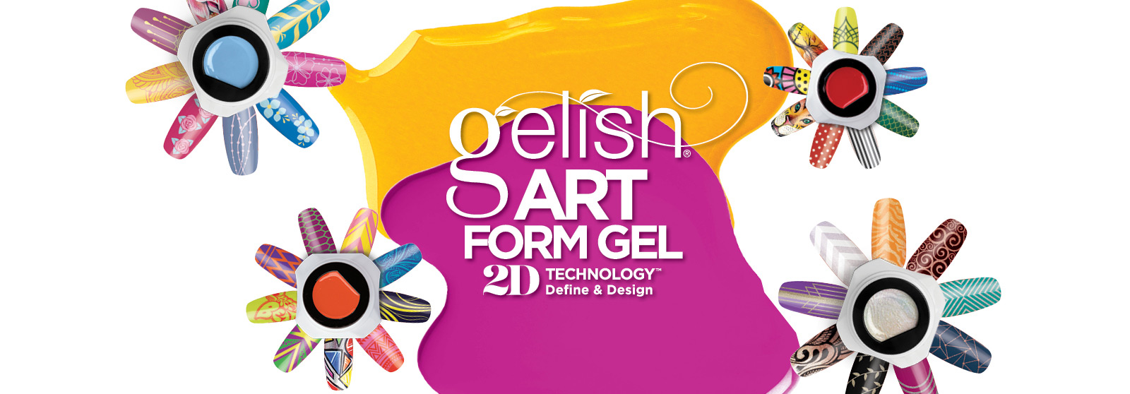 Gelish Art Form Gel - One Stroke True Color