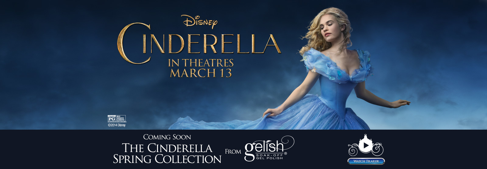 Coming Soon - The Cinderella Spring Collection from Gelish