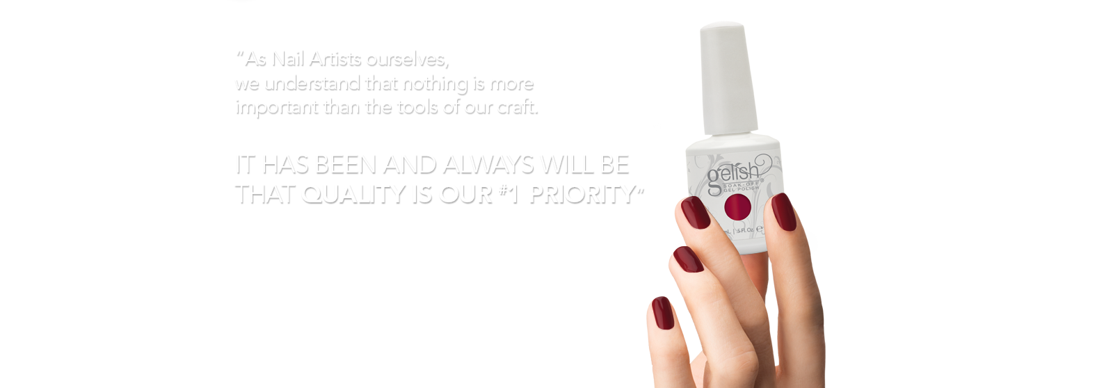 It has been and always will be  that quality is our #1 priority