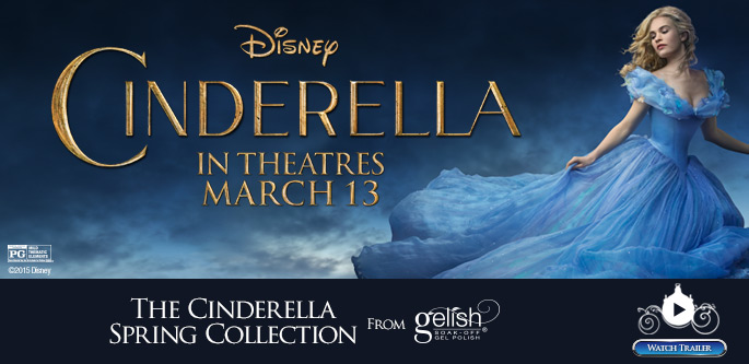 The Cinderella Spring Collection from Gelish - Spring 2015 Collection