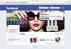 Gelish Facebook