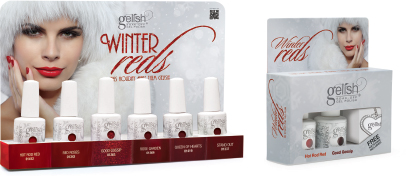 Gelish Winter Reds