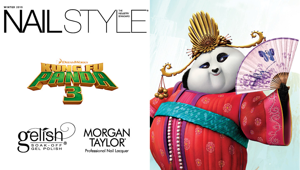 Nail Style: The Industry Standard, Kung Fu Panda 3 Collection from Gelish & Morgan Taylor