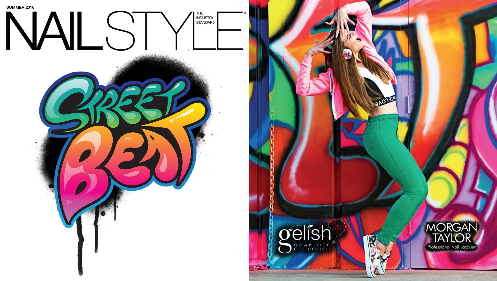 Nail Style: The Industry Standard, Street Beat from Gelish & Morgan Taylor