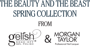 The Beauty And The Beast<br> Sping Collection from Gelish And Morgan Taylor