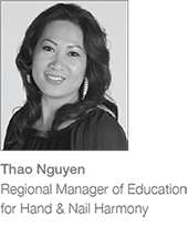 Thao Nguyen Regional Manager of Education for Hand & Nail Harmony