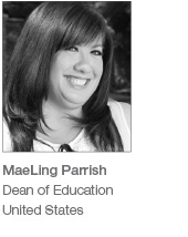 MaeLing Parrish - Dean of Education, United States