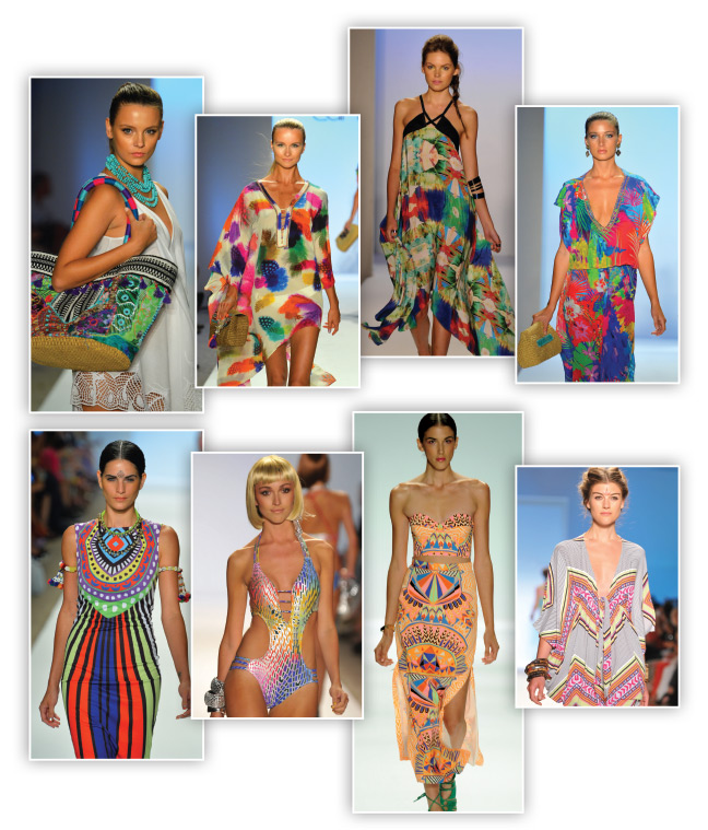 Island Girl, This summer's runway trends lead straight to paradise!