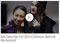 Get Color Fall Behind the Sceenes Video