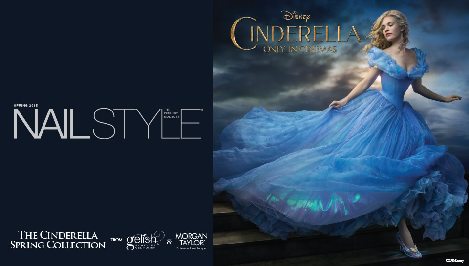 Nail Style: The Industry Standard, The Cinderella Spring Collection from Gelish & Morgan Taylor