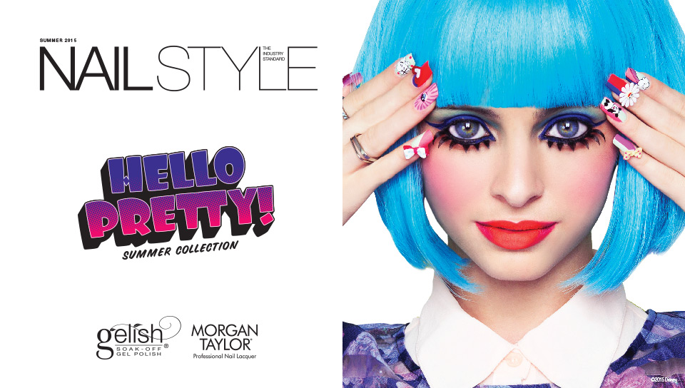 Nail Style: The Industry Standard, Hello Pretty Summer Collection from Gelish & Morgan Taylor