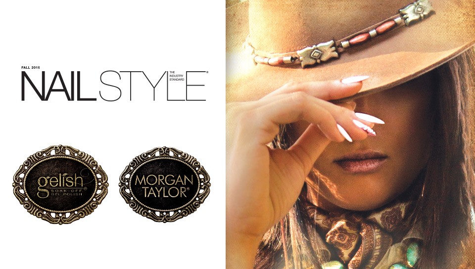 Nail Style: The Industry Standard, Urban Cowgirl Collection from Gelish & Morgan Taylor