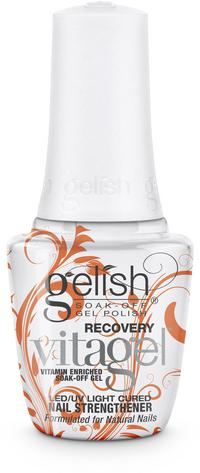 Recovery - Fortifies and repairs damaged nails. Great for repairing and growing out nails from acrylic use. All the benefits of Strength but a thicker formula for weak and brittle nails.