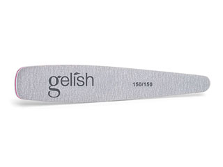 150/150 Grit File - Shapes the nail enhancement and is used for quick filing and surface smoothing.