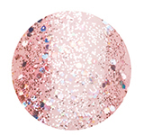 1353 June Bride - Holographic Pink Glitter