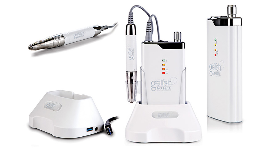 Gelish Go File and Components
