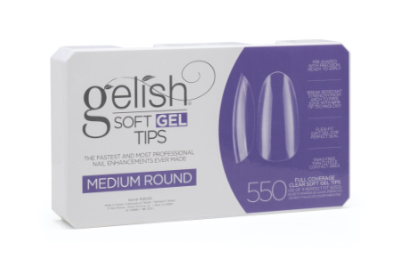 Soft Gel Tips - Medium Round