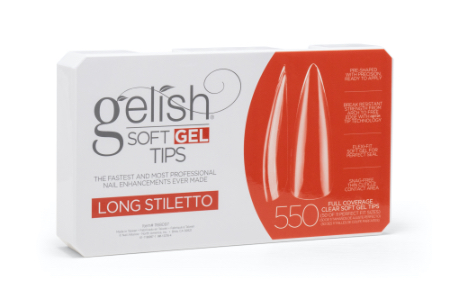 Soft Gel Tips - Long Stiletto