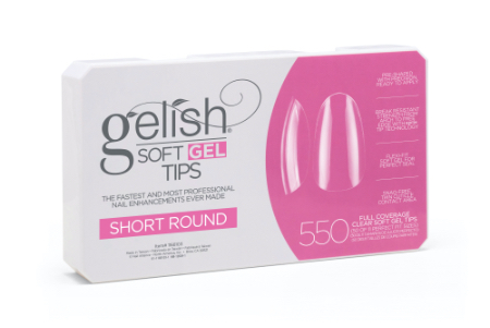 Soft Gel Tips - Short Round