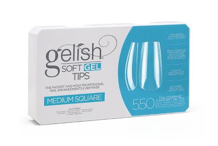 Soft Gel Tips - Square Medium